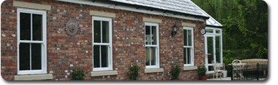 UPVc Sash Windows available from East Grinstead Glass Works